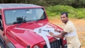 Natarajan thanks Anand Mahindra for gifting SUV, sends his signed Gabba Test shirt in return