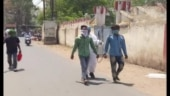 MP cop makes Covid-positive thief walk barefoot,says no vehicle available