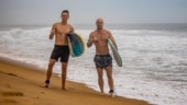 IPL 2021: Trent Boult and Chris Lynn hit the beach for surfing as MI enjoy short break after KKR win