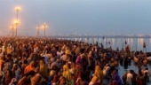 Pandemic dents footfall on first day of Maha Kumbh in Haridwar