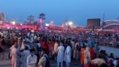 WATCH | Crowds at Maha Kumbh defy Covid precautions day before 'Shahi Snan' in Haridwar