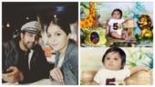 Meghana Raj's son Jr Chiru's 5th month photoshoot leaked?