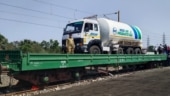 Covid-19: Oxygen Express ferries tankers to Maharashtra on maiden journey amid shortage