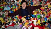 Philippine man has super-sized collection of fast-food restaurant toys. Read his story