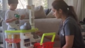 Sania Mirza plays with son Izhaan in cute viral video. Internet can't stop gushing