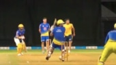 IPL 2021: Watch- MS Dhoni turns back clock with his batting, wicketkeeping skills in CSK's intra-squad match