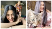 Shruti Haasan calls boyfriend Santanu Hazarika and pet cat her lockdown buddies