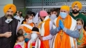 More than 800 Indian Sikhs reach Pakistan to mark 'vaisakhi' festivities at 16th century gurdwara