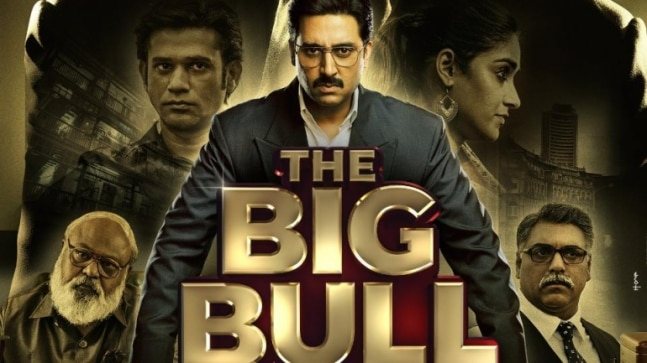 The Big Bull Movie Review. Abhishek Bachchan film adds Bollywood to Harshad Mehta story