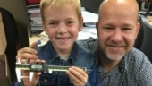 Canadian boy holds Guinness World Record for longest milk tooth extracted