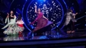 Jaya Prada grooves to Mujhe Naulakha Manga De Re on Indian Idol 12