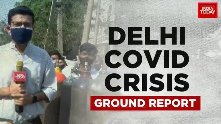 Delhi oxygen shortage Covid19