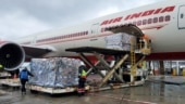 Air India flight with 318 oxygen concentrators from New York reaches India