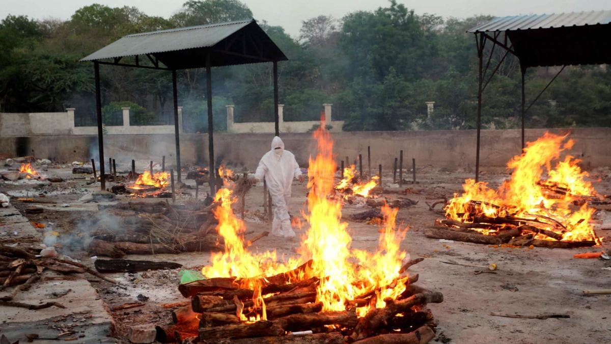 Bhopal crematoriums flooded with bodies: 187 cremated following Covid norms  while records show only 5 deaths - Cities News