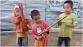 Little boys sing in full spirit during epic street concert in viral video. Don't miss the message