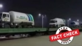 Fact Check: This video does not show oxygen tankers arriving in India from Pakistan