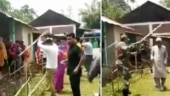 Fact Check: Old video from Manipur shared as TMC men raiding Cooch Behar polling booth