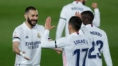El Clasico 2021: Real Madrid go top of La Liga after 2-1 win over Barcelona in thrilling finish