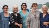Waheeda Rehman, Helen and Asha Parekh go on a vacation to Andaman Islands. See pic