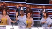 Madhuri Dixit recreates Ek Do Teen with Shakti Mohan on Dance Deewane 3 sets