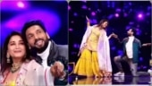 Madhuri Dixit recreates Pehla Pehla Pyaar Hai with Punit Pathak on Dance Deewane 3