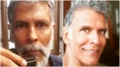 Beard or no beard, Milind Soman asks in new post on Instagram. Internet answers