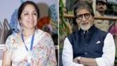 Neena Gupta to play Amitabh Bachchan's wife in Goodbye