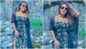 Neha Kakkar is chic in maxi dress in throwback pics. Don't miss Rohanpreet Singh's comment