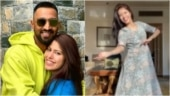Krunal Pandya's wife Pankhuri signs up for Don't Rush Challenge with a Kathak twist. Viral video