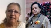 Shashi Tharoor falls for Sumitra Mahajan death hoax, BJP says former Lok Sabha speaker absolutely fine