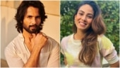 Shahid Kapoor is looking straight at you in new pic. Mira Rajput has something to say