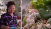 US cookery show host makes Popcorn Salad in viral video. Internet is disgusted