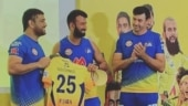 IPL 2021: Cheteshwar Pujara receives CSK jersey from MS Dhoni as 3-time champions welcome new recruits
