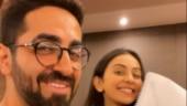 Ayushmann Khurrana and Rakul Preet Singh begin prepping for Doctor G