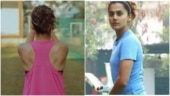 Taapsee Pannu replaces gym with open ground to train for Shabaash Mithu during lockdown
