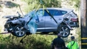 Tiger Woods car accident: Golf great drove at almost double the speed limit before crashing SUV