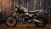 Triumph Scrambler 1200 Steve McQueen Edition limited to 1000 units only