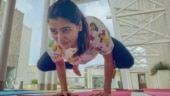 Samantha Akkineni's workout routine involves perfect handstand and a wobbly headstand