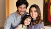 Dulquer Salmaan, wife Amal and daughter Maryam celebrate Eid at home. See pic