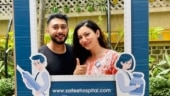Gauahar Khan and husband Zaid Darbar get the first dose of Covid-19 vaccine