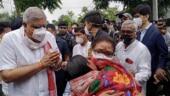 West Bengal governor Jagdeep Dhankhar shown black flags at Sitalkuchi