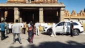 Karnataka CM's son breaks Covid curbs to visit temple, people call out VIP treatment