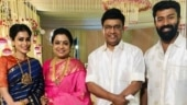 K Bhagyaraj and Poornima test Covid positive. Shanthanu and Kiki quarantine at home