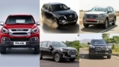 New Isuzu MU-X vs Toyota Fortuner vs Ford Endeavour vs MG Gloster vs Mahindra Alturas G4: Prices compared