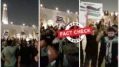Fact Check: Video from Qatar wrongly shared as pro-Palestine demonstration in Rahul Gandhi's Wayanad