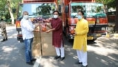 MoS Kishan Reddy donates 'chips' to be distributed among Covid Warriors