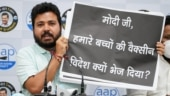 AAP admits to putting posters asking PM Modi about vaccine shortage, claims workers harassed by Delhi Police