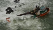 Navy rescues 60 people onboard barge adrift off Mumbai