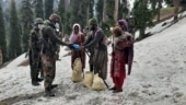 Soldiers trek for 24 hours to bring ration to nomad family in J&K's Kishtwar