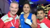 Pooja Rani wins her 2nd Asian Boxing Championships gold after beating Mavluda Movlonova in 75kg final